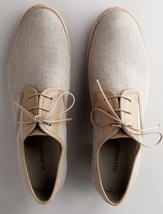 Linen Oxfords