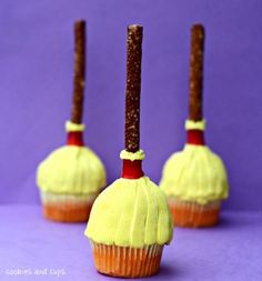 Spellbinding Sweepers - Our Favorite #Halloween Recipes from Pinterest!
