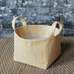 Need storage? Make this easy storage bin with handles. Time to organize all that summer fun. xox