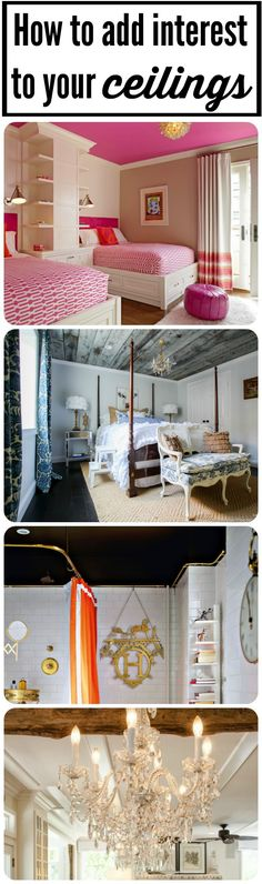Dont forget the ceiling awesome unique ceiling ideas from heathered nest for