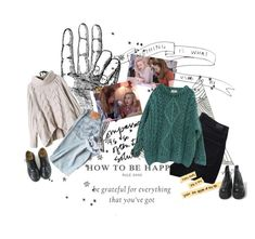 """""""Evoor💞"""" by maryskaam on Polyvore featuring мода, Dr. Martens, Paige Denim и Essentiel"""