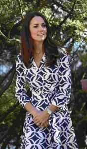 'Looks' de duquesa de Cambridge en un Diane von Furstenberg en Australia Revista Ellas | Panamá