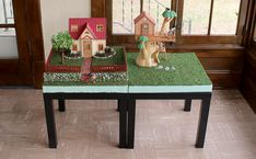 Sylvania Grove – Diorama bases, background ideas for small scale photography of Sylvanian Families Sylvania Families, Train Table, Stylish Baby, Family Photography, Dollhouse Miniatures, Diy Projects, Crafts, Furniture, Background Ideas