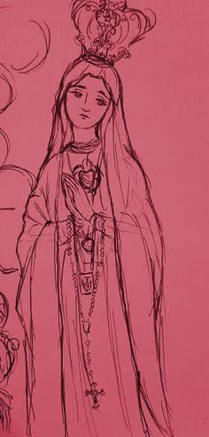Catholic Religion, Catholic Art, Catholic Wallpaper, Mama Mary, Religious Pictures, Blessed Mother Mary, Holy Mary, Art Thou, Chicano Art