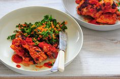 cuts of meat and how to substitute different meats  pirri pirri chicken with carrot tabbouleh-2 by jules:stonesoup, via Flickr