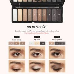 Everyday Smoky Eyeshadow Palette Everyday Smoky - new_make_up_pintennium Elf Eyeshadow Palette, Smokey Eye Palette, Smoky Eyeshadow, Eyeshadow Makeup, Elf Palette, Lipstick Dupes, Drugstore Makeup, Eye Candy Makeup, Elf Makeup