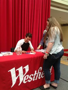 from meeting James Maslow from Big Time Rush in May of 2013