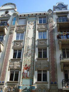 Paseos Art Nouveau: Egyptian Building, 10 rue du Général Rapp, Strasbourg