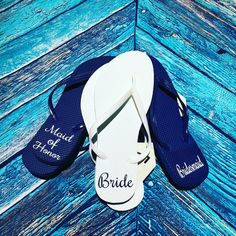 951b2542b31636 27 Best Personalized flip flops images