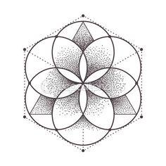 Descargar - Vector de geometría sagrada — Ilustración de stock #100945626