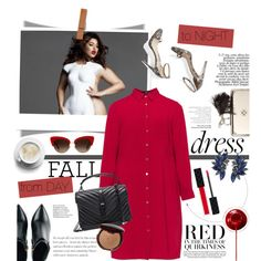 Fall Look: Plus Size Dresses by pippi-loves-music on Polyvore featuring Lovedrobe, Kim Kwang, Yves Saint Laurent, Alexander McQueen, Dolce&Gabbana, Bobbi Brown Cosmetics, Gucci, M. Gemi and dress