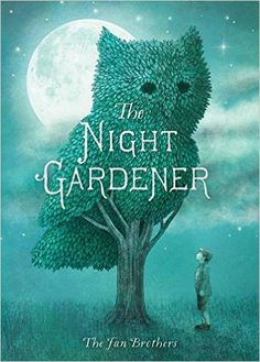 Everyone on Grimloch Lane enjoys the trees and shrubs clipped into animal masterpieces after dark by the Night Gardener.  William, a lonely boy, takes another step - he spots the artist, follows him, and helps with his special work.