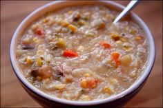 Comfort Food: Hearty Delicious Congee (asian rice porridge)   Calm Mind Busy Body