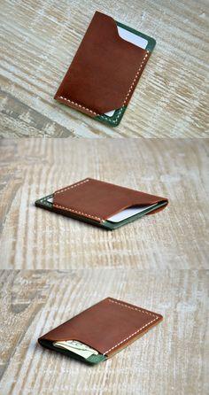 #wallet #leather #mens #card Mens Custom Leather Wallet , Slim Mens Wallets, Gifts for Men, Minimalist Gift Ideas, wallets for men, leather wallets,mens wallet, Handor