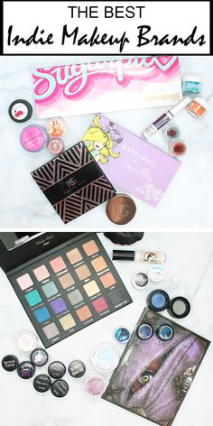Best Indie Makeup Companies - Courtney shares the best independent makeup companies that are available today! Brands like Lunatick Cosmetic Labs, Sugarpill, Saucebox, Violet Voss, Makeup Geek, Fyrinnae, Aromaleigh, My Pretty Zombie, Darling Girl, Silk Naturals, Geek Chic and more!