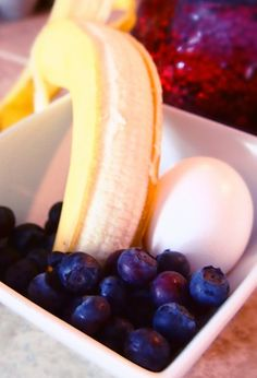 Do you enjoy pancakes in the morning? Are you a fan of blueberries and bananas? Instead of indulging in a high calorie breakfast of regular pancakes, try this recipe out! This recipe only requires ...