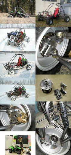 ATV 월드...전기자동차 모터, Baja, Formula SAE, 자작차 부품