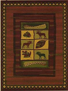 United Weavers Area Rugs: Genesis: Highland Falls Lodge Rug: 130-23243 : 5'3'x7'6' Rectangle >>> Click image to review more details. (This is an affiliate link) #HomeDecor