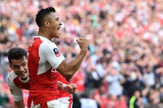 Alexis with first goal! Arsenal