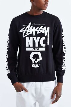 Stussy NYC Crew World Tour Sweatshirt