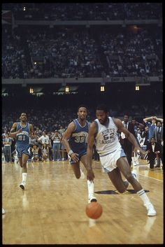 1982 NCAA men's basketball championship game between UNC and Georgetown. From the blog, a View to Hugh.