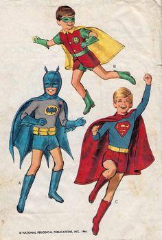 Halloween Costume Patterns, 1966