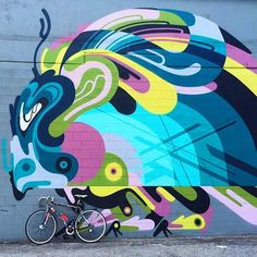 A nice collaboration with @n_nawer from 2014 in Washington DC. #gotbugs by rekaone