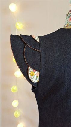 Anne-Charlotte X Louis Antoinette Kids Blouse Designs, Simple Blouse Designs, Stylish Blouse Design, Blouse Neck Designs, Neck Designs For Suits, Sleeves Designs For Dresses, Sleeve Designs, Designer Kurtis, Lehenga Designs Latest