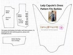 1000+ images about Sewing Barbie Doll Clothes Patterns on ...