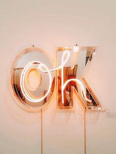white peach neon lights LED decor oh ok quotes aesthetic mimalist Photo Wall Collage, Picture Wall, Rose Gold Metallic, Photo Pour Instagram, Mood Instagram, Rose Gold Aesthetic, Aesthetic Light, Aesthetic Pastel, Aesthetic Themes