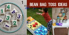Use bean bag toss fo