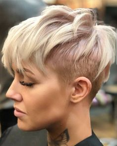 """4,783 Likes, 33 Comments - Short Hair DontCare PixieCut (@nothingbutpixies) on Instagram: """"Love or Love this look on @d_w_i_l_l_o_w"""""""
