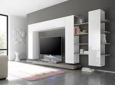Image result for drawing room wall unit