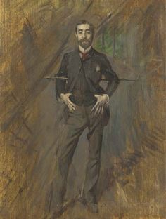 """""""John Singer Sargent"""", by Giovanni Boldini (Italian, Sargent was an American artist, considered the leading portrait painter of his generation. Giovanni Boldini, Italian Painters, Italian Artist, Beaux Arts Paris, Belle Epoque, American Artists, Les Oeuvres, Art History, Metropolitan Museum"""