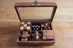 Wooden Puzzle 6 in 1 in Solid Sheesham