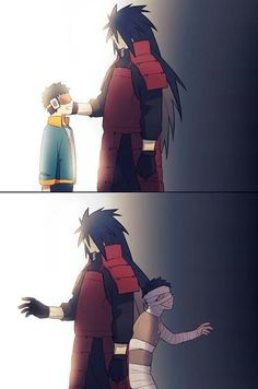 Would you hurt someone to fix yourself? Madara and Obito
