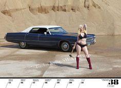 Mopar Girls Cars | Girls & Legendary US-Cars 2014 Weekly Calendar