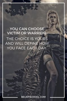 Who do you choose to be today? Courage to create change.