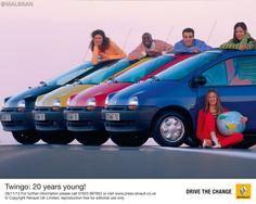 Renault Twingo - AUTO - CAR - AUTOMOVIL - TUNING - Modificado - POSTER PROPAGANDA MARKETING @MALBRAN