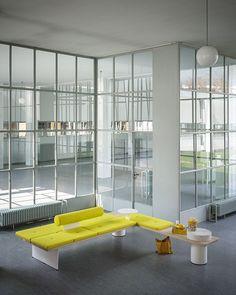 Perfekt Modular Bench GALLERIA By Tacchini Italia Forniture Design PearsonLloyd