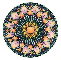 mandalas - Google Search\ Peach