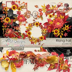 Rising Fall arrangements @Pickleberrypop @PST Designs