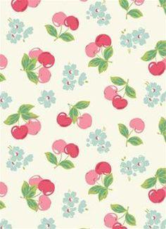 Cherry Oilcloth