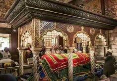 Inside of Haaji Ali Dargah Mumbai.