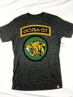 DC Shoes short sleeve Jungle Tri-blend t shirt men's Charcoal gray size LARGE #DCShoes #GraphicTee