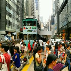 Today I'm in Hong Kong :)