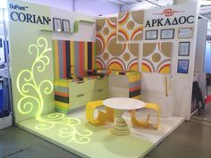 Arkados won in the Best Interior category with their Corian® work at Intermebel in Kazan, Russia.