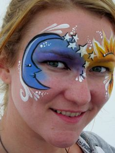 Great celestial Face Painting