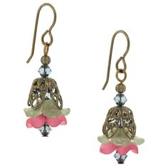 #inspirationinbloom Something fun! In Bloom Earrings | Fusion Beads Inspiration Gallery