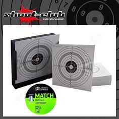 Set: Kugelfang + 120 Zielscheiben + JSB Match Diabolos Kal. 4,5 mm
